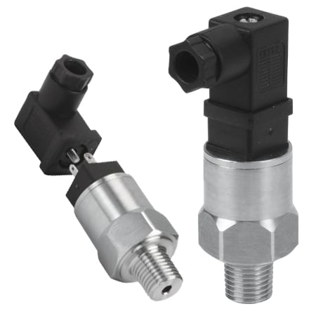 OEM Style, Compact Pressure Transmitters with Mini DIN