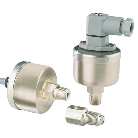 Amplified Voltage Output Transducer for Absolute and Sealed Pressure Waterproof Case, Harsh Environments
