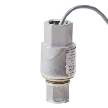 Compact, Intrinsically Safe Pressure Transducers