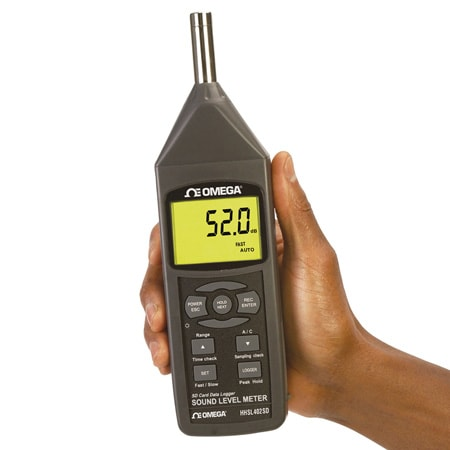 Sound Meter with Data Logging SD Card