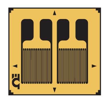 Dual Parallel Grid, Linear Strain Gauges