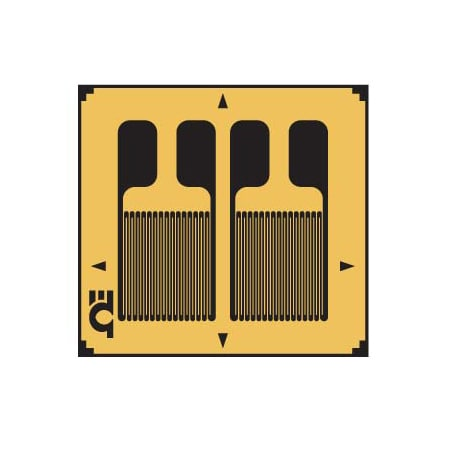 Dual Parallel Grid, Linear Strain Gauges with Transducer Quality