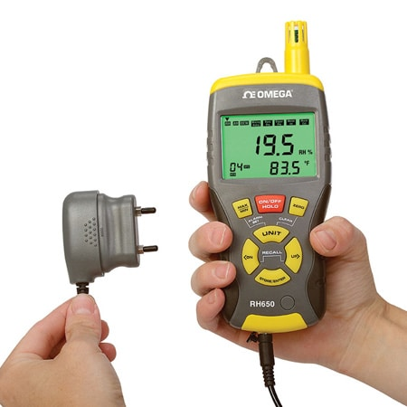Handheld Multi-Function Thermo-Hygrometer