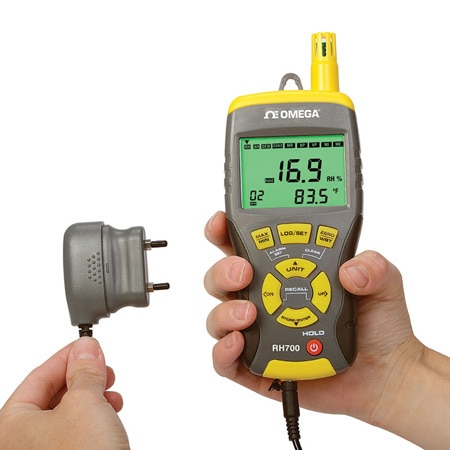 Multi-Functional Thermo-Hygrometer Data Logger