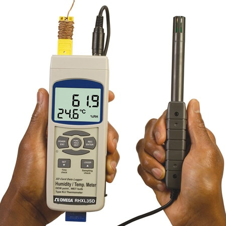 Handheld Thermometer/ Hygrometer Data Logger