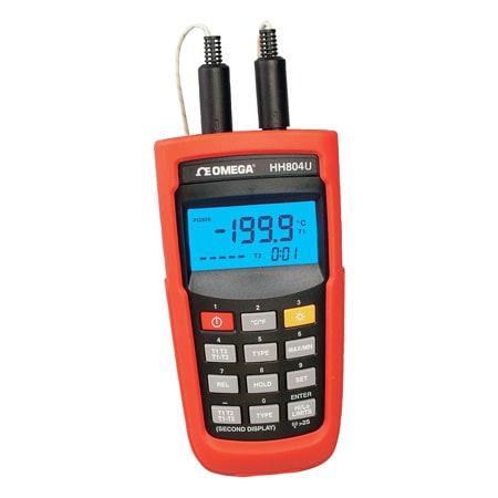 Thermomètre Grande Précision avec Entrée à RTD PT100