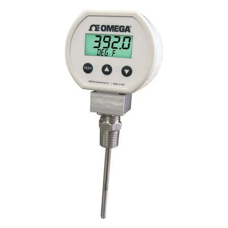Temperature Transmitter with Display and RTD Sensor