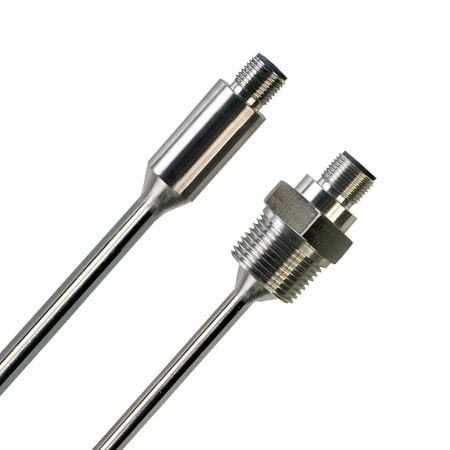 Vibration Tested Thermistor Probes with M12 Connections