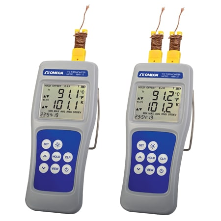 0.04% Accuracy Multi-Channel Digital Thermocouple Thermometers