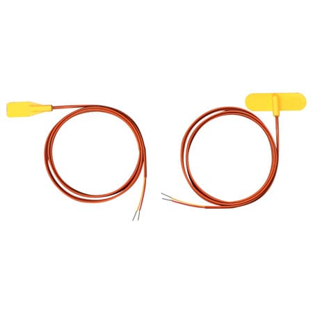 Self-Adhesive Silicone Molded Surface Thermocouples