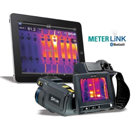 -20°C to 650°C Temperature  Handheld Online Thermal Imager