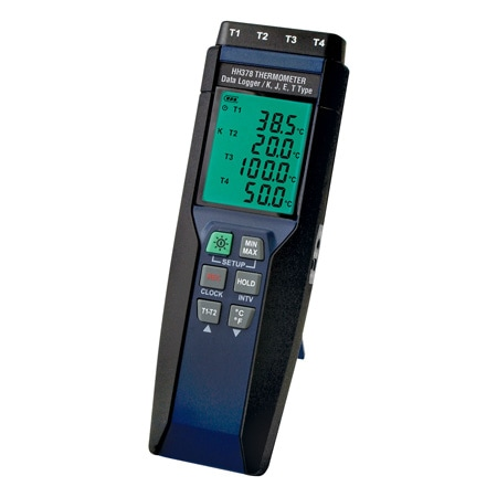 4-Channel Handheld Data Logger Thermometer