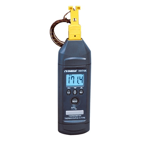 Handheld Thermometer with Magnet Hanger