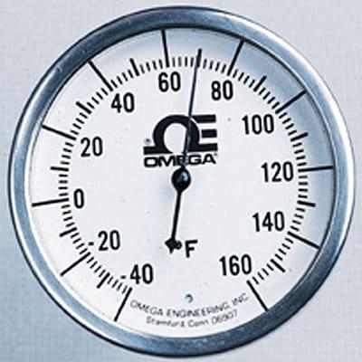 "2.37"" Dial Bimetal Hermetically Sealed Thermometer Handheld"