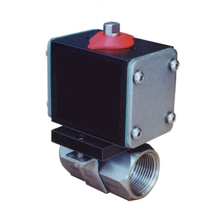 Ball Valves, Pneumatic and Electric Actuated Models
