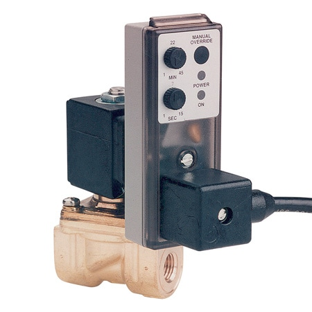 Adjustable timing Electronic Drain Valve