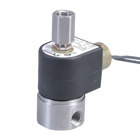 2-Way, NO, Stainless Steel, General Purpose Solenoid Valves