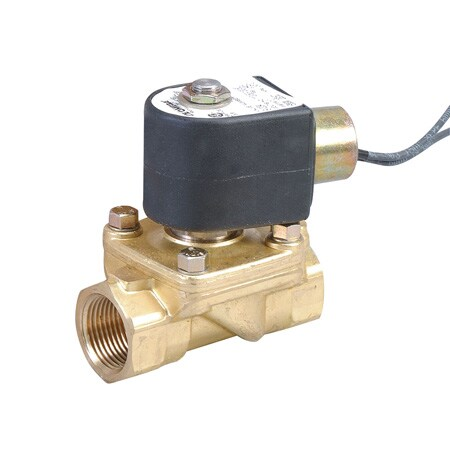 2-Way, NC, Direct Lift, Brass, Solenoid Valves for Steam
