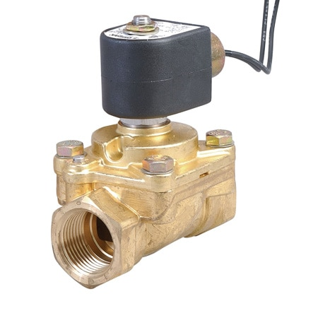 2-Way, NO, Pilot Operated, Anti-Waterhammer Solenoid Valves
