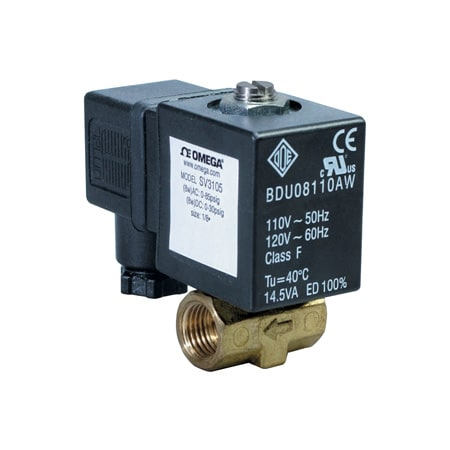 2-Way, NC, Direct Acting, Brass, Solenoid Valves