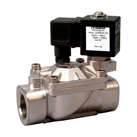 2-Way, NO,NC, Pilot Operated, Hot Water/Steam Solenoid Valves