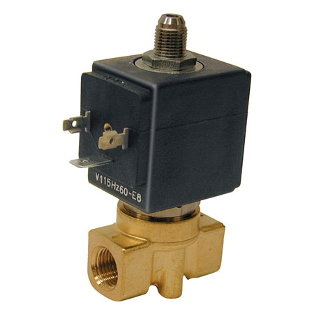 3-Way, NO, NC, Direct Acting, Brass, Solenoid Valves