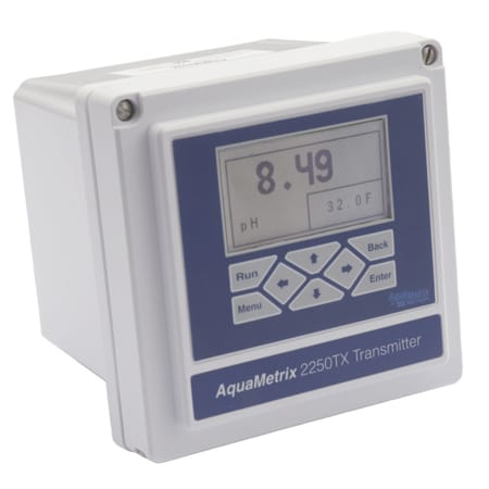 Multi-Variable pH, ORP, conductivity & flow Loop Powered Transmitter