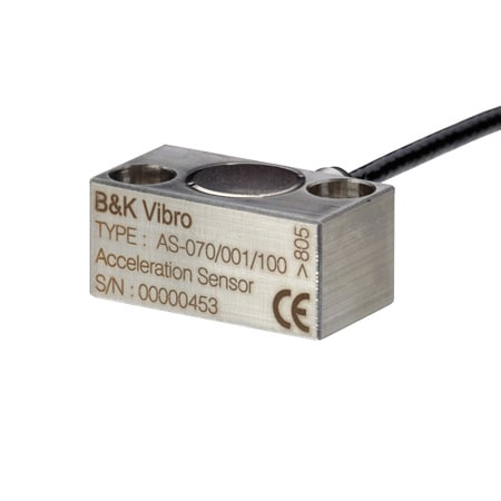 B&K Vibro Compact, Ultra Low Frequency Accelerometer