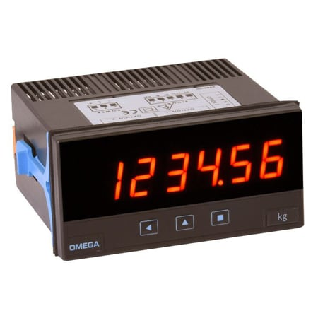 Strain Meter - 6 Digit Display with 3 Relay Outputs