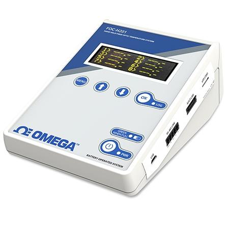-80 to 300°C Fiber Optic Monitors