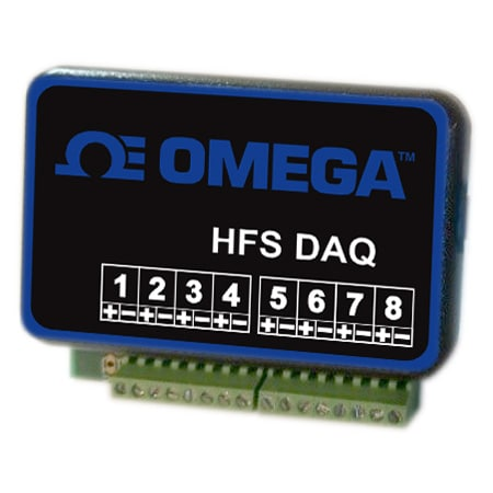 8 Differential Inputs Heat flux sensor data logger