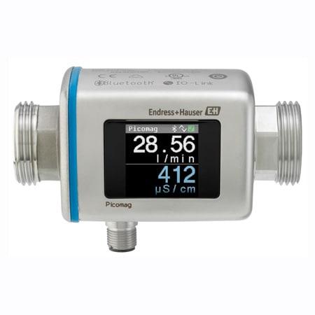Picomag Magnetic Flow Meter w/Temperature & Conductivity Sensor