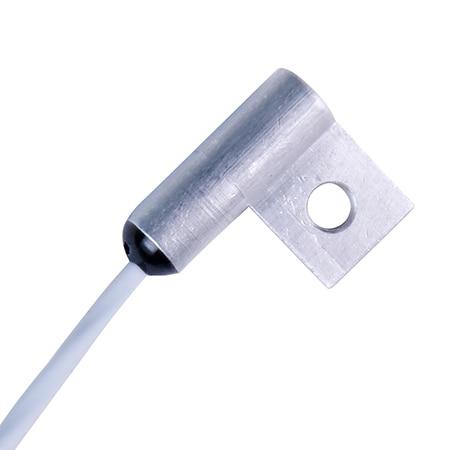1 m PFA leads, 100 Ω, stripped ends, #3, #4 hole