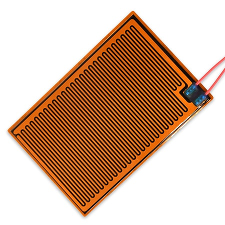 Self-Regulating Polyimide Flexible Heater 140°F Max