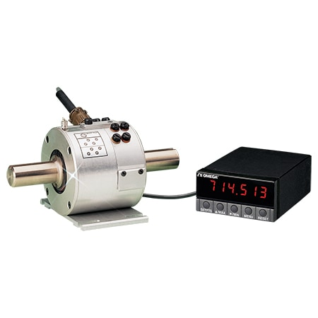 Rugged In-Line Rotary Torque Sensors with Integral Slip Ring Assembly