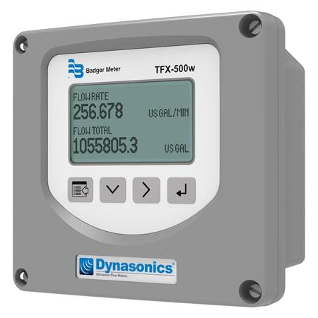 Pipe Mounted Transit-Time Ultrasonic Flow Meter & Display