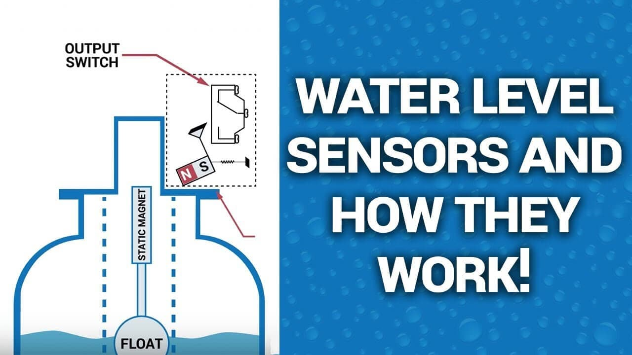 Water Level Sensor Types and how they work!