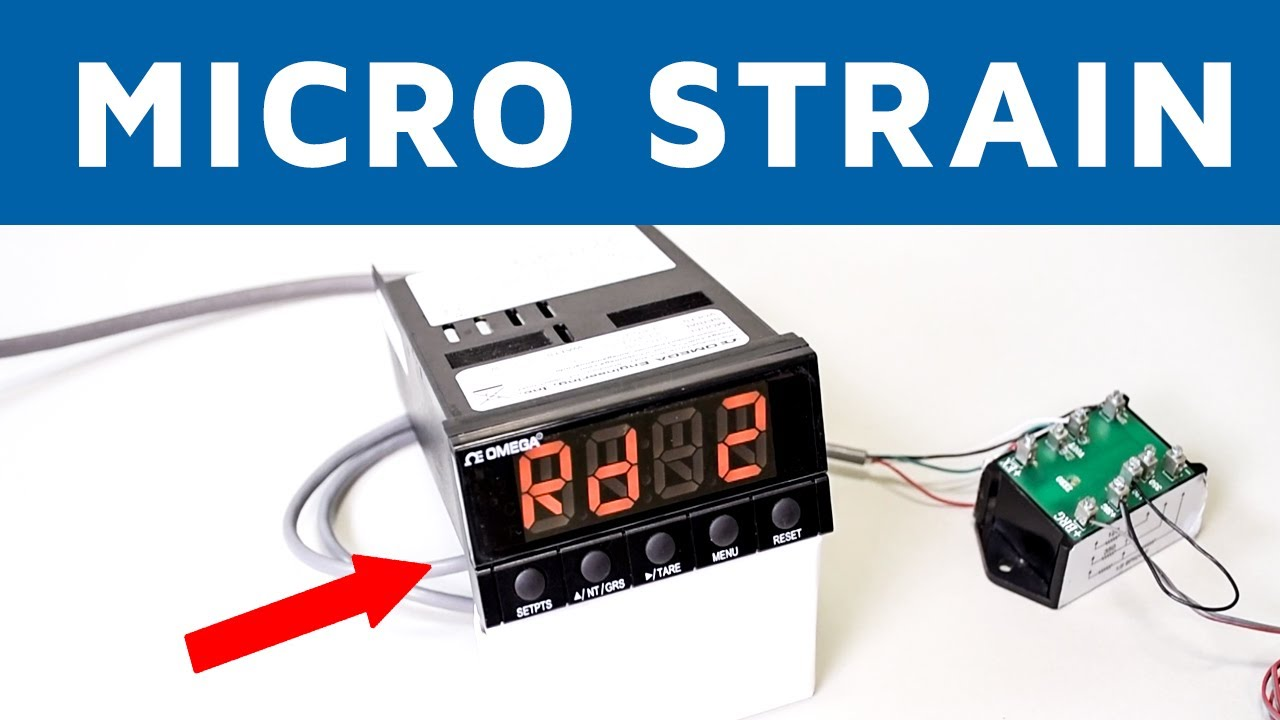 Learn how to scale a Strain Meter to read Microstrain