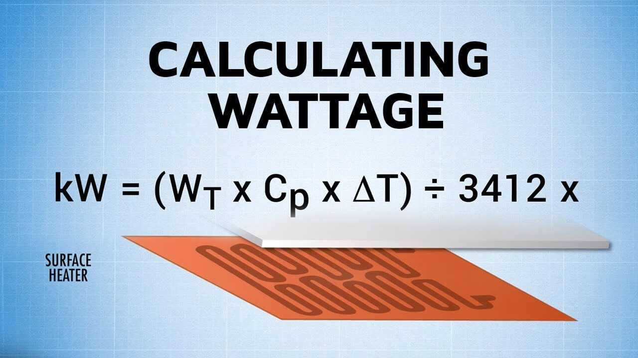 How to Calculate your Heater Wattage (Get your target temperature)