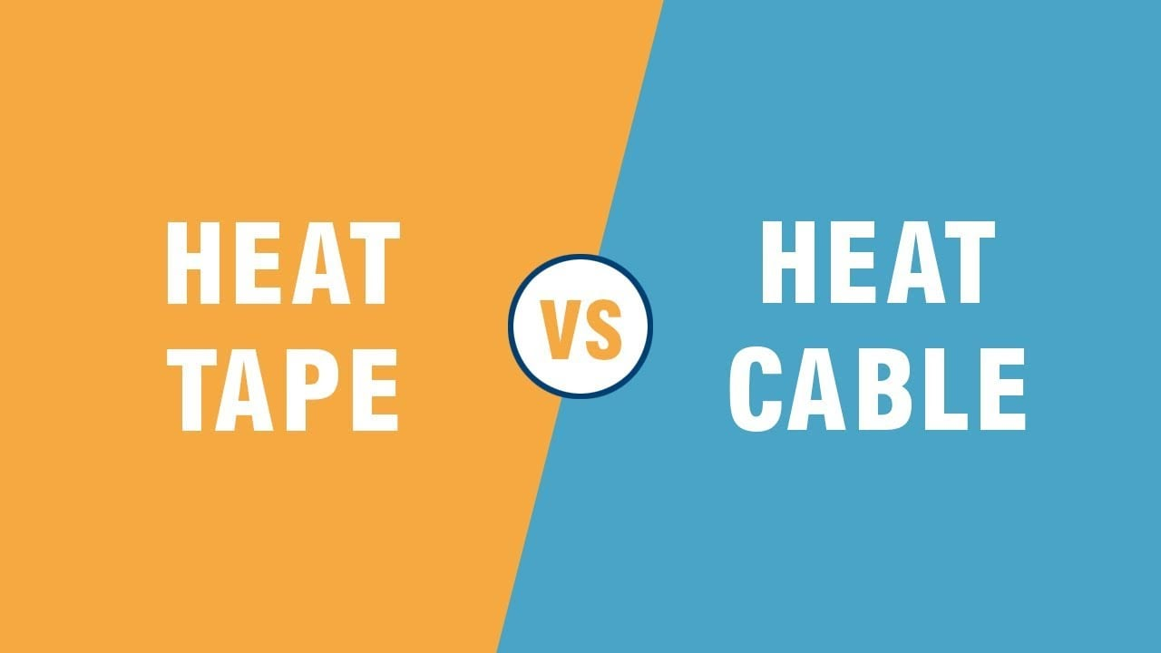 Heat Cable vs Heat Tape | What's the difference?