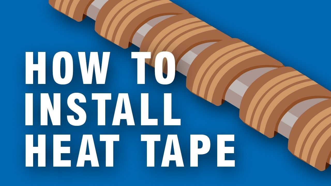 How to install Heat Tape to your pipes | Step-by-Step