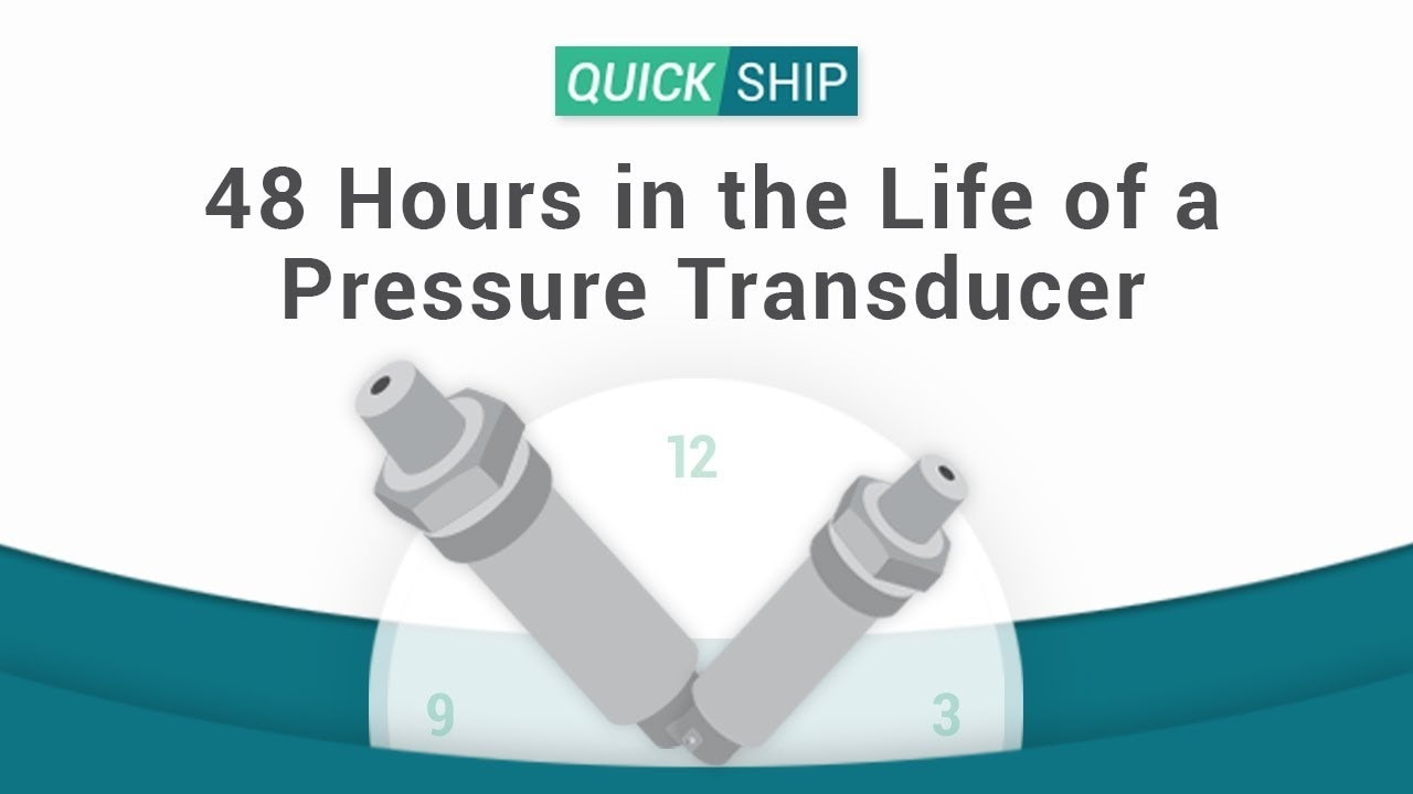 48 Hours in the Life of a Pressure Transducer