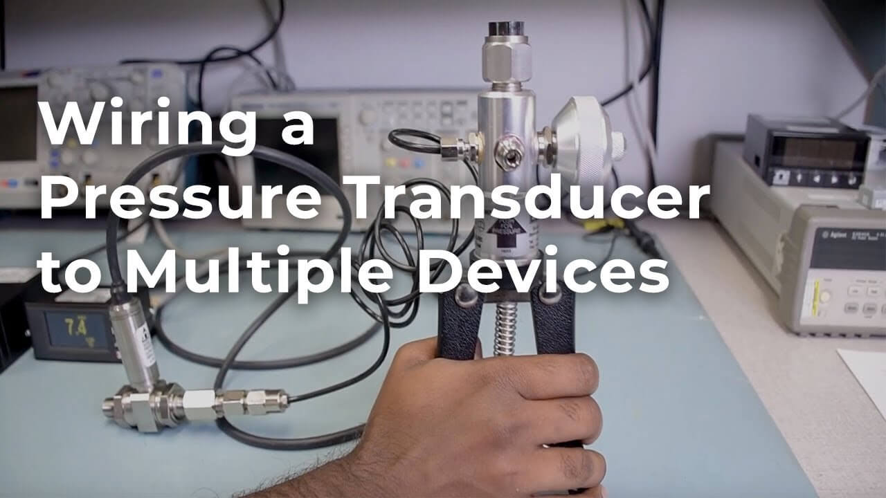 How to Wire a Pressure Transducer to Multiple Devices