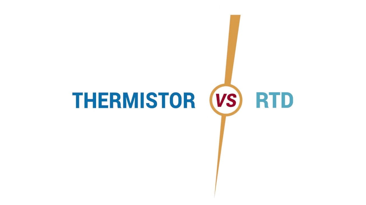 Thermistor vs RTD - What's the difference?