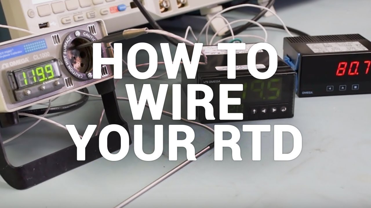 How to wire your RTD (Get proper RTD readings)
