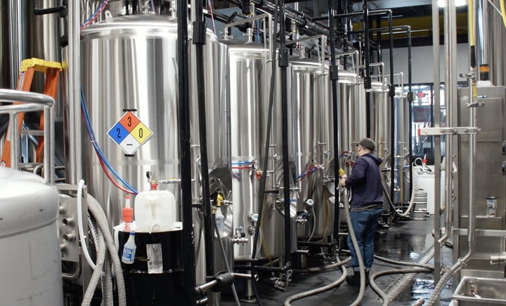 HANI Application: Temperature Monitoring for CIP Processes in Beer Brewing Systems