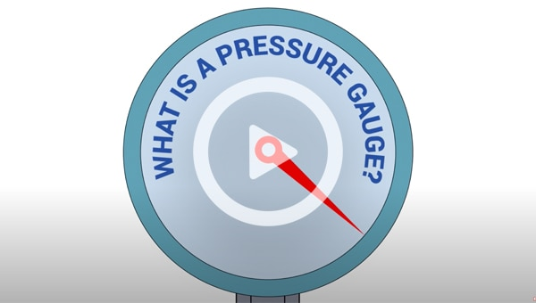 The MOST COMMON types of Pressure Gauges and how they work